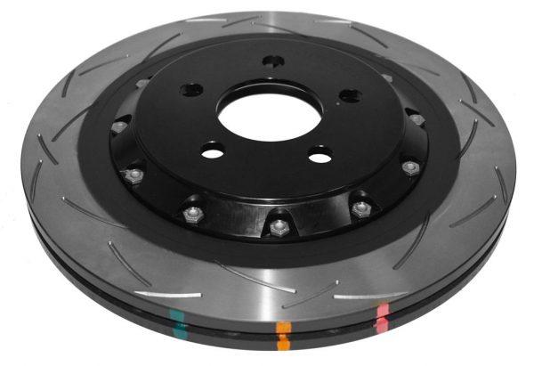 Rear DBA Brake Discs 52165BLKS 330x25mm Ford Mustang 2.3 2-Piece Black Hat