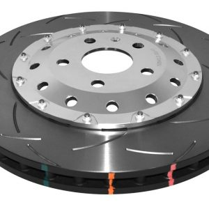 Audi TTRS 8J Brake Discs DBA 52842SLVS 370x32mm 5000 series Fully Assembled 2-Piece Clear Anodised T3