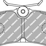 Ford Fiesta St mk6 Rear Ferodo Racing Brake Pads FCP1319H DS2500 New