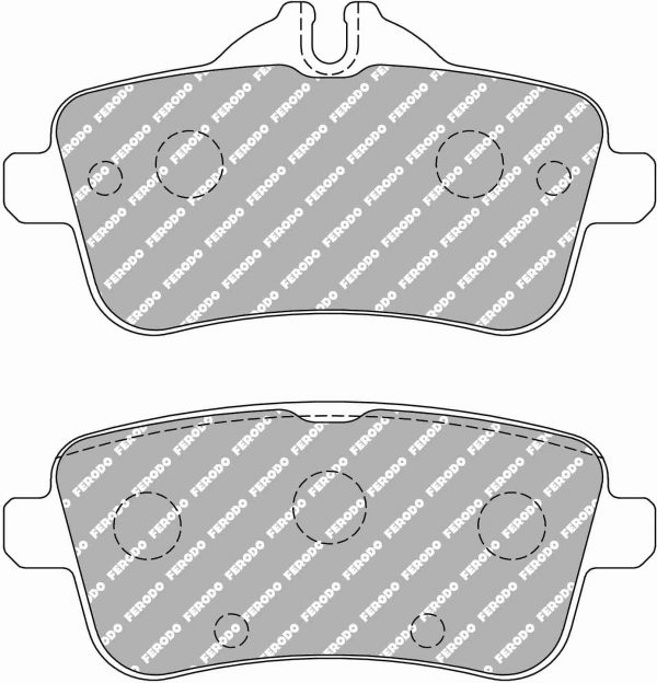 Rear Mercedes A45 AMG Ferodo Racing Brake Pads FCP4587H DS2500 New