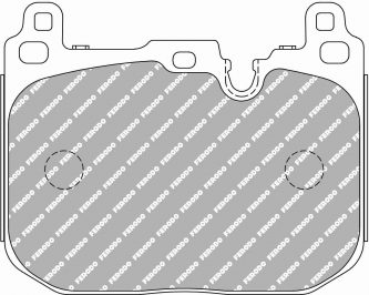 Front BMW Ferodo Racing Brake Pads FCP4611H DS2500 4pot Brembo Calipers New