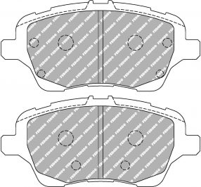 Ford Fiesta St mk6 Front Ferodo Racing Brake Pads FCP4612H DS2500 New