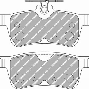 Ford Fiesta St mk7 Rear Ferodo Racing Brake Pads FCP5130H DS2500 New