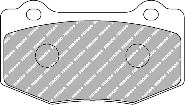 Rear Ferodo Racing Brake Pads FRP3137H Ford Mustang GT 5.0 DS2500 New