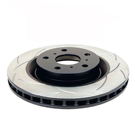 Ford Fiesta ST MK6 Rear Brake Discs DBA 2109S 253x10mm series T2 Slot