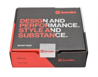Ford Focus Rs Mk3 Front BREMBO SPORT Brake Pads 07.B314.95 HP2000 High Performance New