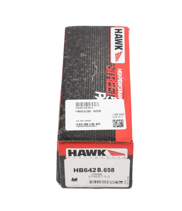 Audi S4 S5 B8 Rear HB642B.658 Hawk Performance HPS 5.0 Brake Pads NEW