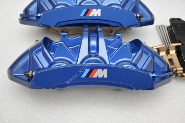 BMW M5 F90 Front Brembo 6pot Calipers 34118089937 34118089938 NEW