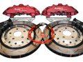 Audi RS Big Brake Upgrade Brembo 8Pot Calipers DBA 370x32mm 52842SLVS Brake discs 2-piece