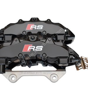 Front Audi Rs4 RS5 B8 R8 Brake Calipers 8T0615107D 8T0615108D Brembo 8Pot 20.7675.02 Black New