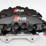 Audi Rs4 RS5 B8 R8 Brake Calipers Brembo 8Pot 20.7675.02 Black New