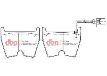 Audi RS3/TTRS/Rsq3 Front Brake Pads Xtreme Performance DBA Brake Pads DB15005XP