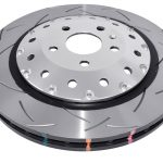 Audi Rs3 8v Sedan Brake Discs DBA 53004SLVS 370x34mm 5000 series Fully Assembled 2-Piece Clear Anodised T3