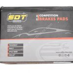 SDT Racing Front Brake Pads 1066 2518400RT NEW Audi RS4 Rs5-2