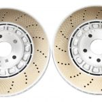 Front Audi RSQ3 F3 Brake Discs 4M0615301BJ 374x36mm Round NEW