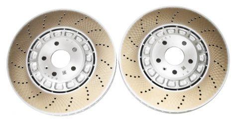 Front Audi RSQ3 F3 Brake Discs 4M0615301BJ 374x36mm Round NEW
