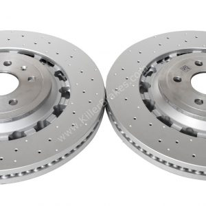 Audi TTRS 8S FL 8S0615301L Round Brake Discs 370x34mm NEW
