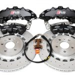 Front Audi TTRS 8S FL Brake Kit Brembo 8Pot Calipers 370x34mm NEW