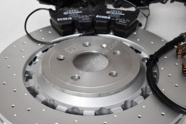 Audi TTRS 8S FL Brakes Brembo 8Pot Calipers 370x34mm Round Brake discs NEW