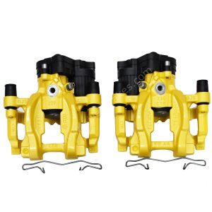Rear Golf 7 R Audi S3 8v Calipers Yellow upgrade for Gti A3 NEW