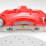 Audi A4 S4 A5 S5 B9 A6 C8 Front Brake Kit 6pot Akebono 350x34mm Red New