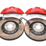 Audi A4 S4 A5 S5 Rs4 Rs5 B9 A6 C8 Front Brake Kit 6piston Akebono 375x36mm Red New