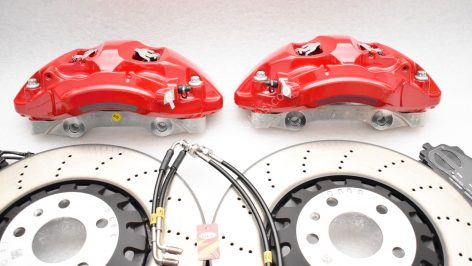 Audi A4 S4 A5 S5 Rs4 Rs5 B9 A6 C8 Front Brake Kit 375x36mm Red