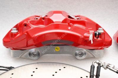 Audi A4 S4 A5 S5 Rs4 Rs5 B9 A6 C8 Front Brake Kit 375x36mm Red
