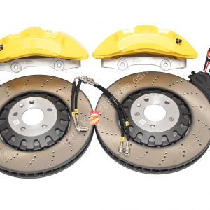Audi A4 S4 A5 S5 Rs4 Rs5 B9 A6 C8 Front Brake Kit 375x36mm Yellow New