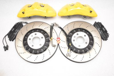 Audi A4 S4 A5 S5 Rs4 Rs5 B9 A6 C8 Front Brake Kit 375x36mm Yellow New