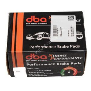 Front TTRS 8J Audi RS3 8P Brake Pads DBA DB2228XP Xtreme Performance