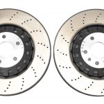 Front Audi Rs4 Rs5 B9 4M0615301AM Brake Discs 375x36mm NEW