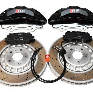 Front Audi Rsq3 F3 Brake Kit Akebono 6pot Black 374x36mm New