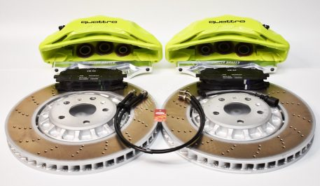 Audi Rsq3 2020 Akebono 6pot Brake kit 374x36mm New Green Acid P&P MQB