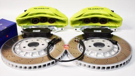 Audi Rsq3 2020 Akebono 6pot Brake kit 374x36mm New Green Acid P&P MQB