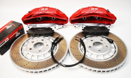 Audi Rsq3 2020 Akebono 6pot Brake kit 374x36mm New Red