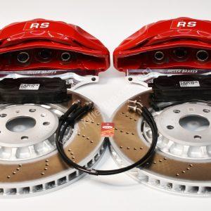 Audi Rsq3 2020 Akebono 6pot Brake kit 374x36mm New Red
