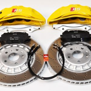 Audi Rsq3 2020 Akebono 6pot Brake kit 374x36mm New Yellow P&P MQB