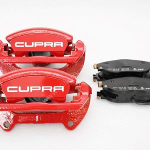 Brake calipers front brakes 340mm red VW Golf Mk7 GTI R Seat Cupra S3 8v New