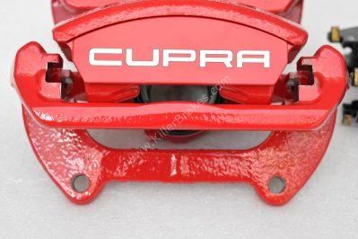 Brake calipers front brakes 340mm red VW Golf Mk7 GTI R Seat Cupra S3 8v New