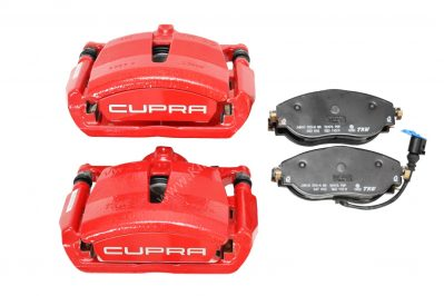 Front Golf 7 GTI R Seat Cupra S3 8v Brake calipers Red New