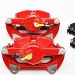 Front Brake calipers VW Golf Mk7 GTI R Seat Cupra S3 8v Red New-29