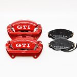 Front Brake calipers VW Golf Mk7 GTI R Seat Cupra S3 8v Red New