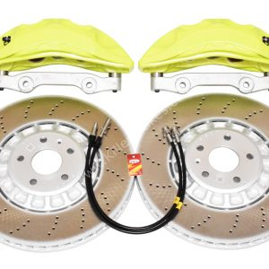 Audi Rsq3 2020 Akebono 6pot Brake kit 374x36mm New Green Acid