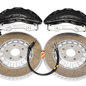 Audi Rsq3 2020 Akebono 6pot Brake kit 374x36mm New Black P&P MQB