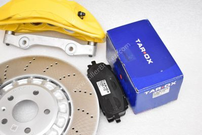 VAG MQB Big Brake Kit Akebono 6-Piston 374x36mm Yellow New