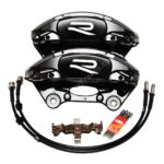 Porsche Macan Brembo 4pot Calipers 95B615123F 95B615124F MQB Direct Upgrade with Lines NEW- 2
