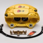 Porsche Macan Brembo 4pot Calipers 95B615123F 95B615124F MQB Direct Upgrade with Lines NEW- 24
