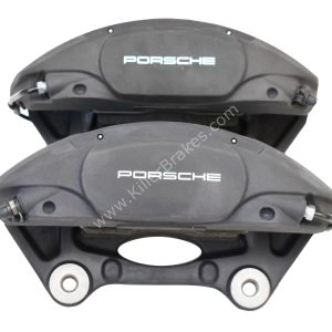 Front Porsche Macan 95B615123F 95B615124F Brembo 4pot Calipers NEW