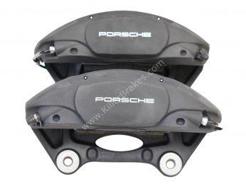 Front Porsche Macan 95B615123F 95B615124F Brembo 4pot Calipers NEW